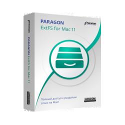 Paragon ExtFS for Mac