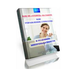 Игнатьева Е.С. «Как не «сгореть» на работе, или управление стрессом в условиях многозадачности» (электронная книга)