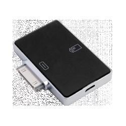 Смарт-карт ридер для iOS-устройств c разъёмом Apple 30-pin
