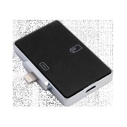 Смарт-карт ридер для iOS-устройств с разъёмом Lightning