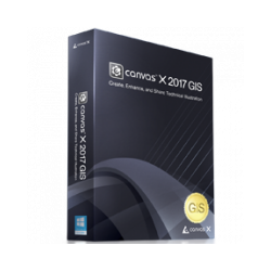 ACDSee Canvas X 2017 GIS
