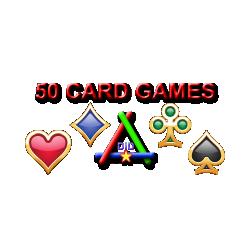 Пакет из 50-ти карточных игр